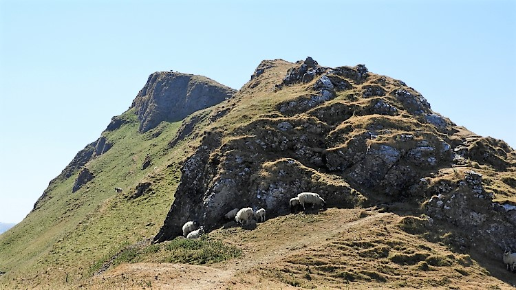 Climbing Chrome Hill