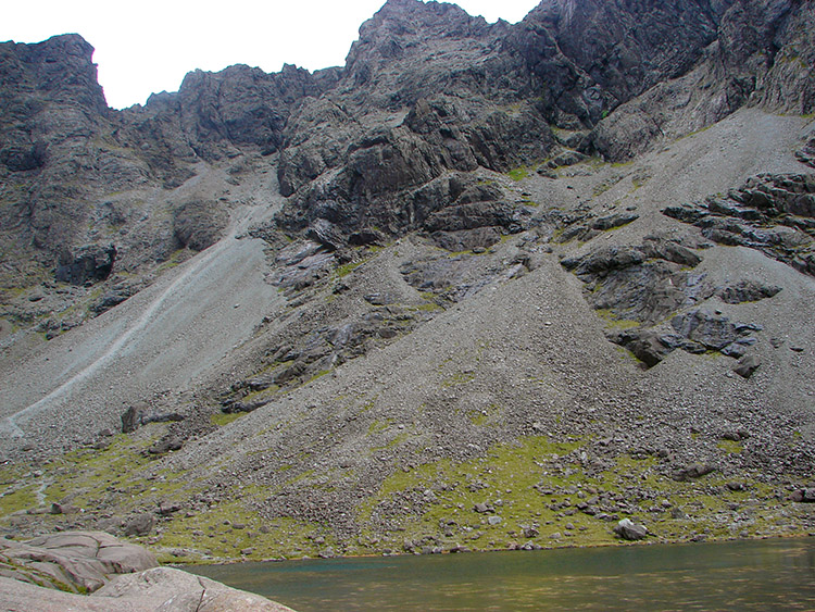 Great Stone Chute of the Black Cuillins