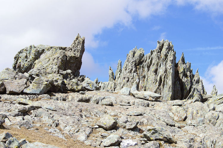 The fascinating outcrops captivated me