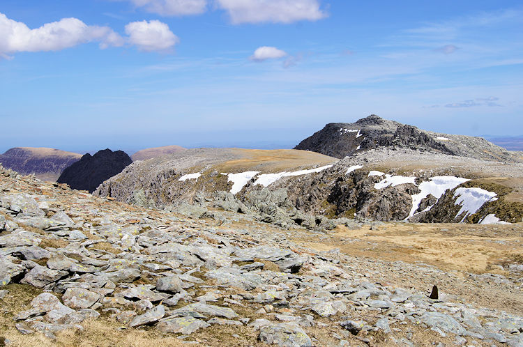 Sublime mountain views from Glyder Fawr
