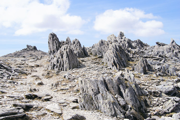 The surreal landscape of Glyder Fawr