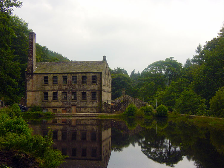 Gibson Mill began operating in the 19th century