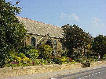 Hawksworth Methodist Church is well looked after