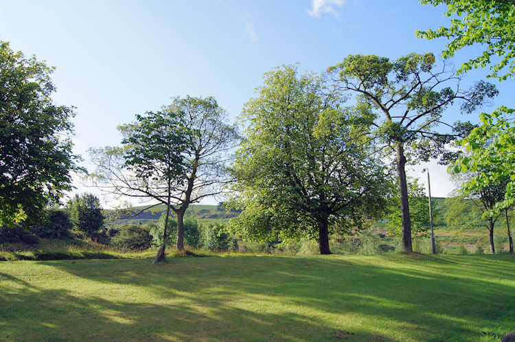 Lovely parkland on Wells Road, Ilkley