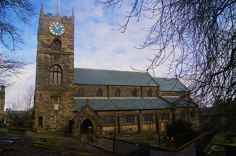 St Michael and All Angels Church, Haworth